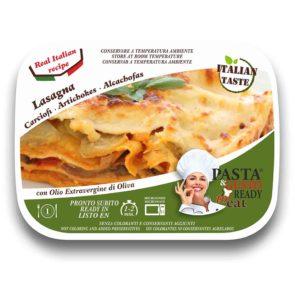 piatti pronti fuori frigo lasagna ai carciofi