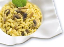 Risotto with Mushrooms Pasta Ready to Eat Dish