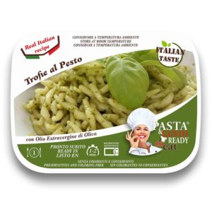 Trofie al Pesto Cover Pasta Ready to Eat