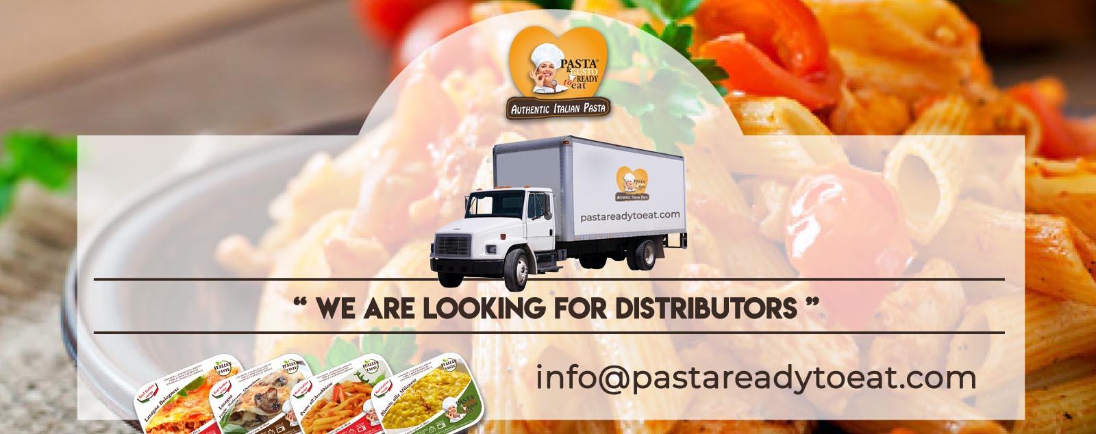 Cerchiamo distributori di alimentari per proporre la nostra linea di Piatti Pronti Fuori Frigo, aumenta il tuo business, diventando parte integrante della nostra struttura.