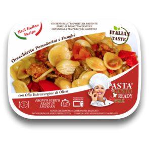 piatti pronti fuori frigo Orecchiette Pomodorini e Funghi